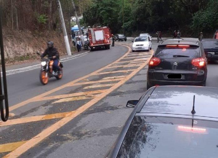 Acidente Estrada Parelheiros