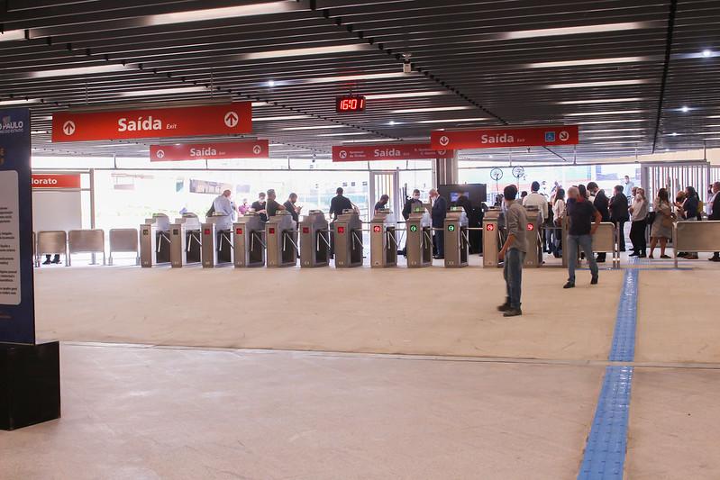 Bloqueios da nova estação