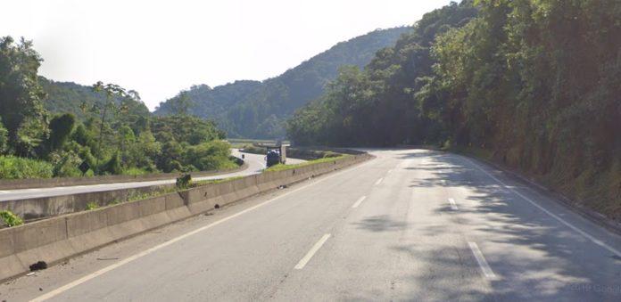 Régis em Miracatu BR-116