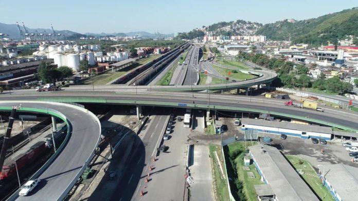 Viaduto Entrada Santos