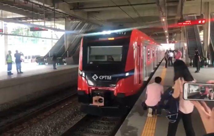 CPTM Novo Trem Linha 13