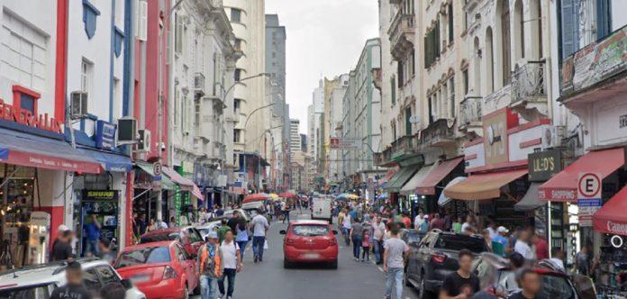 Rua Santa Ifigênia São Paulo