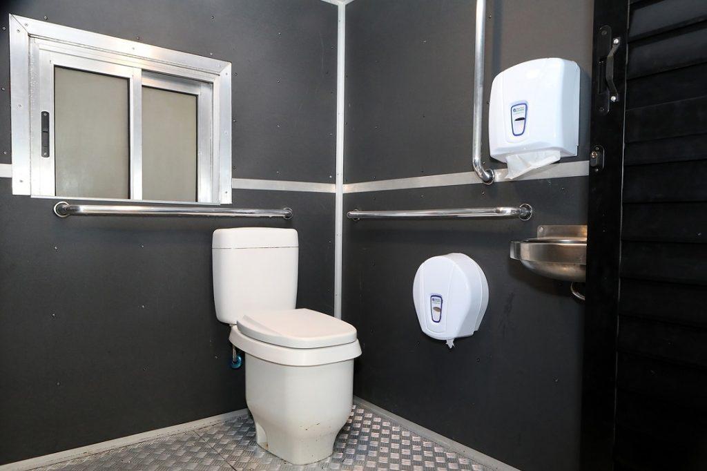 Trem Republicano Banheiro