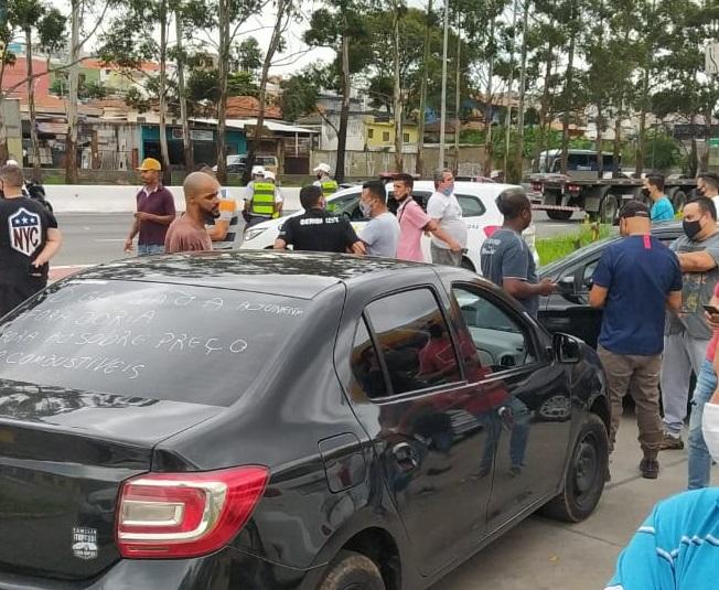 Manifestação Motoristas Jacu
