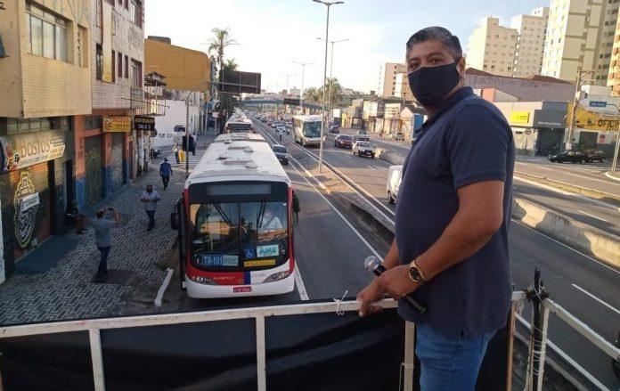 Paralisação Ônibus ABC