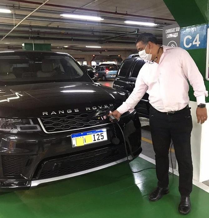Carros elétricos Mais Shopping