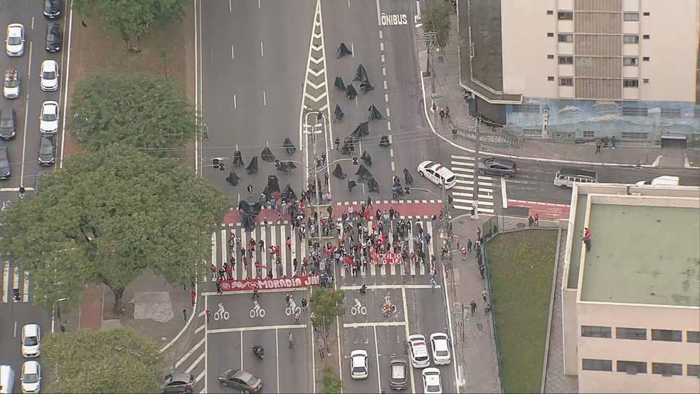 Avenida Tiradentes Protesto
