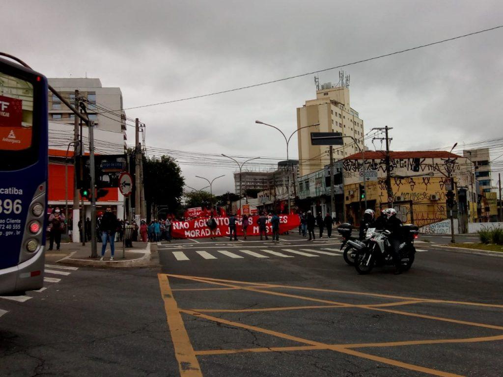 Avenida Vital Brasil Protesto