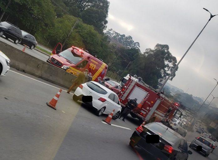 Acidente na Raposo São Paulo