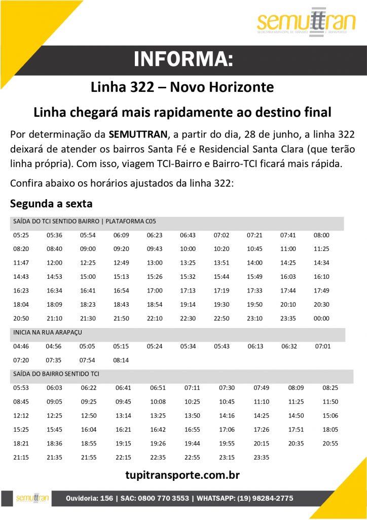 Linha 322