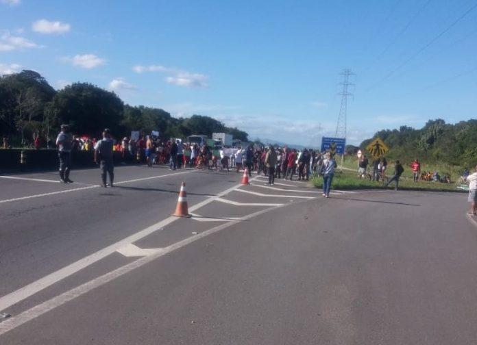 Protesto Peruíbe