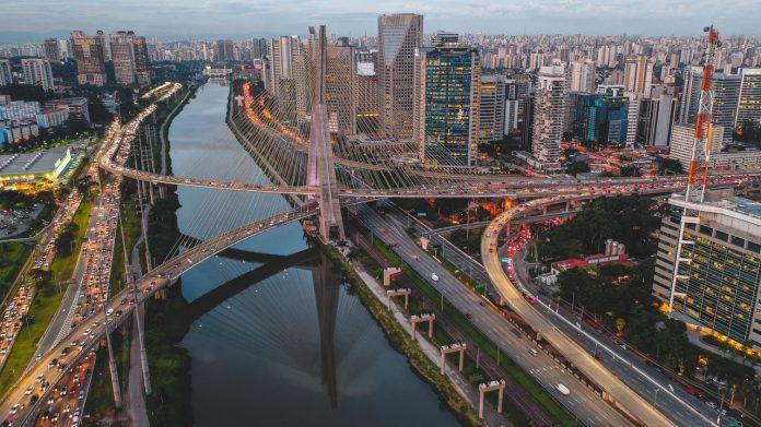 Marginal Pinheiros Ponte Estaiada