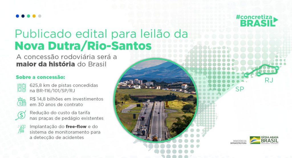 Leilão Dutra Rio Santos