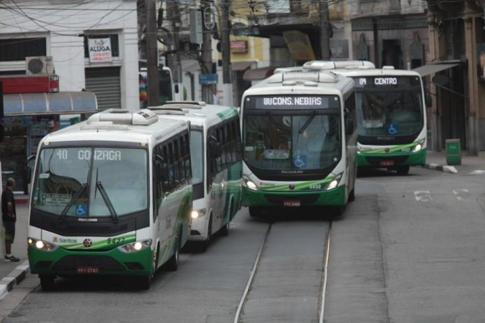 Ônibus em Santos Litoral